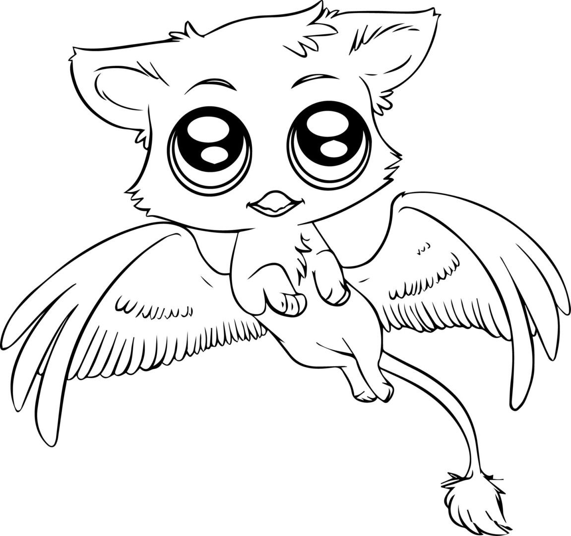 Baby Griffin Coloring Pages  17281