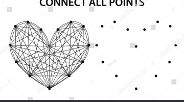 Connect The Dots Heart