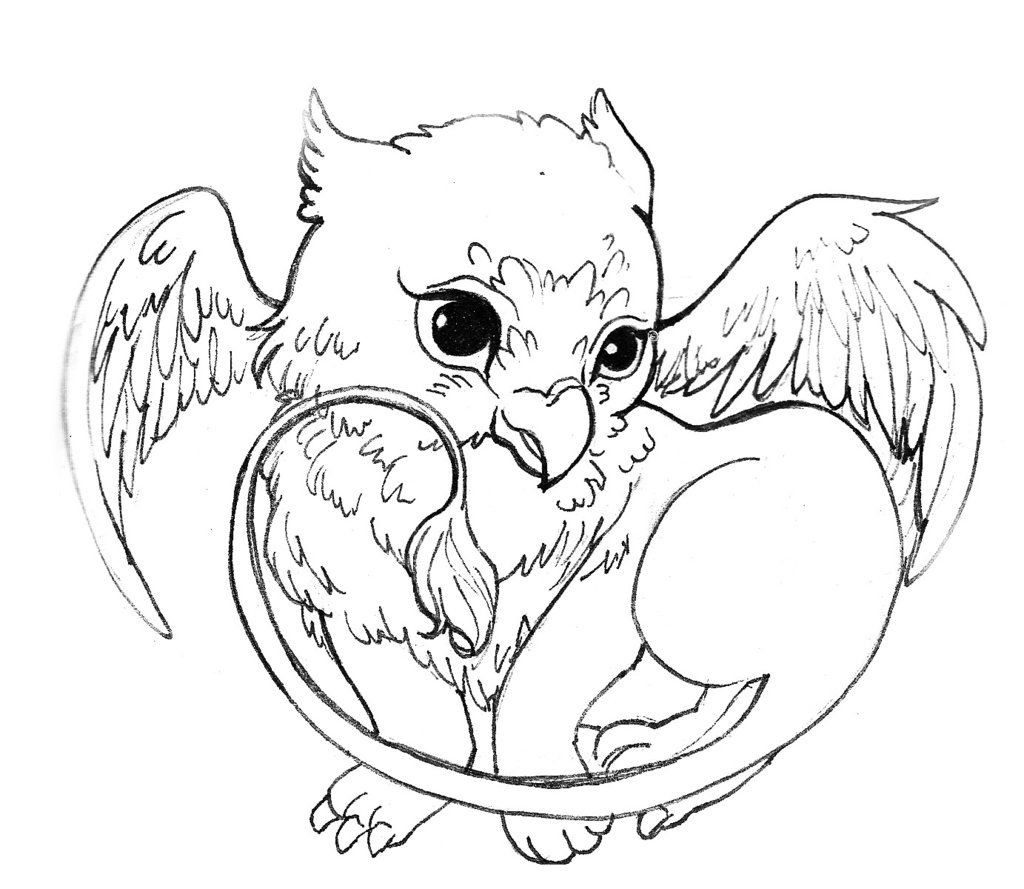 Suddenly Griffin Coloring Pages Baby 16855