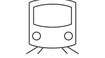Outline Picture Of Train