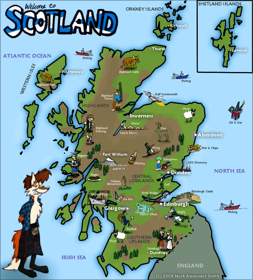 Where Is Scotland