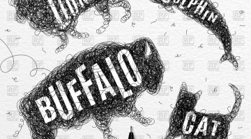 Buffalo Pictures To Color
