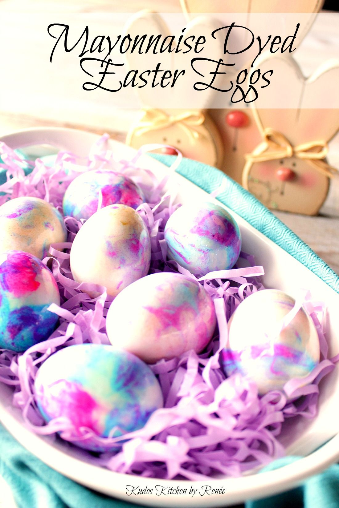 Using Only 3 Ingredients  Hard Boiled Eggs, Mayonnaise, And Gel