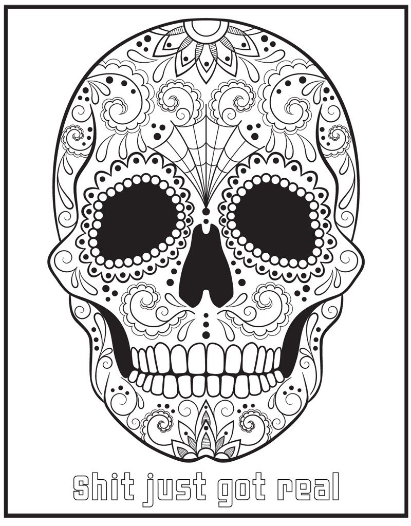 Coloring Pages   Coloring Pages The Swear Word Book Hannahaner