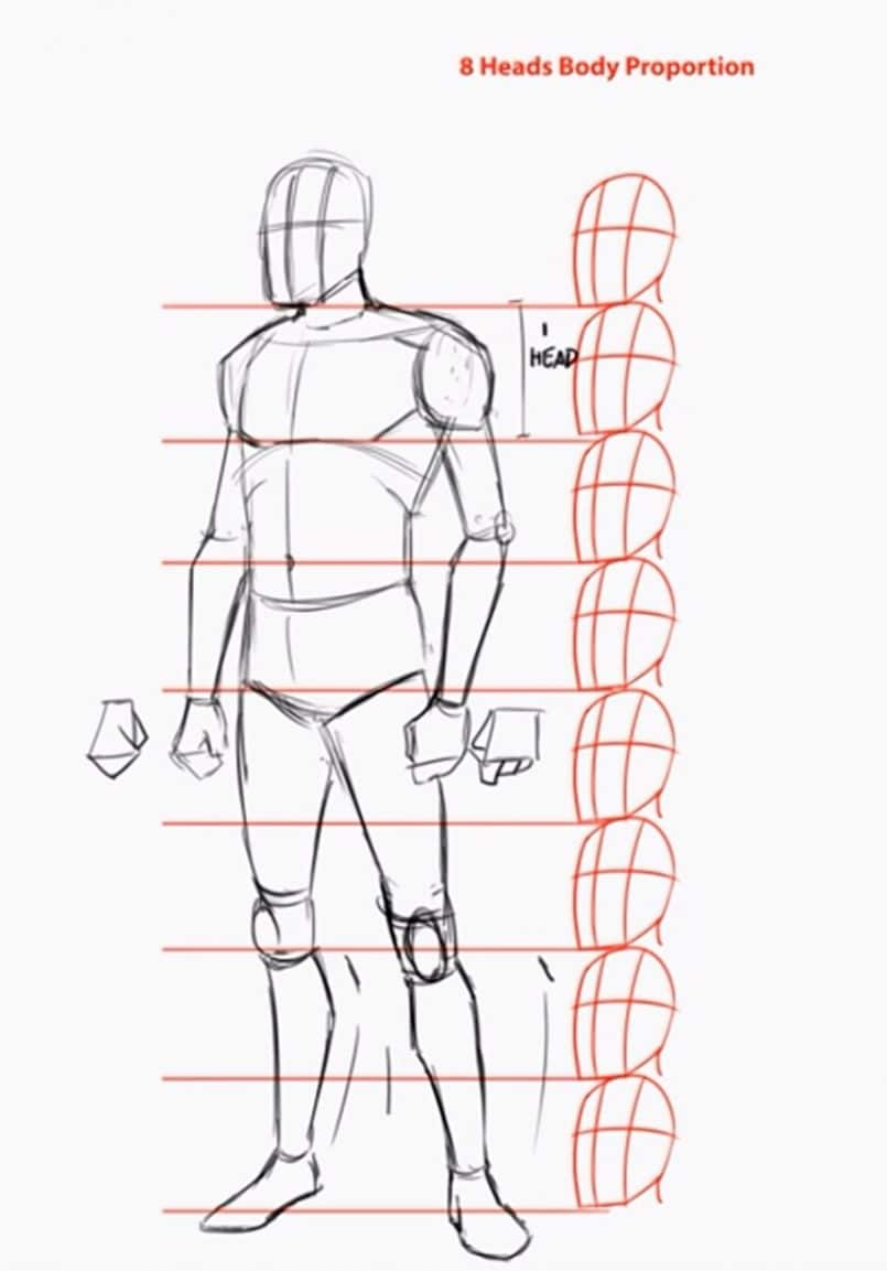 How To Draw The Human Body Step By Step  How To Draw A Person Tutorial