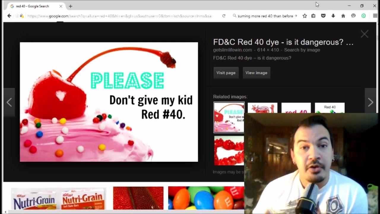 Why Is Red Dye 40 So Dangerous