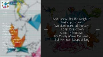 Coloring Outside The Lines Lyrics