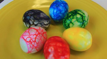 How To Use Gel Food Coloring For Easter Eggs