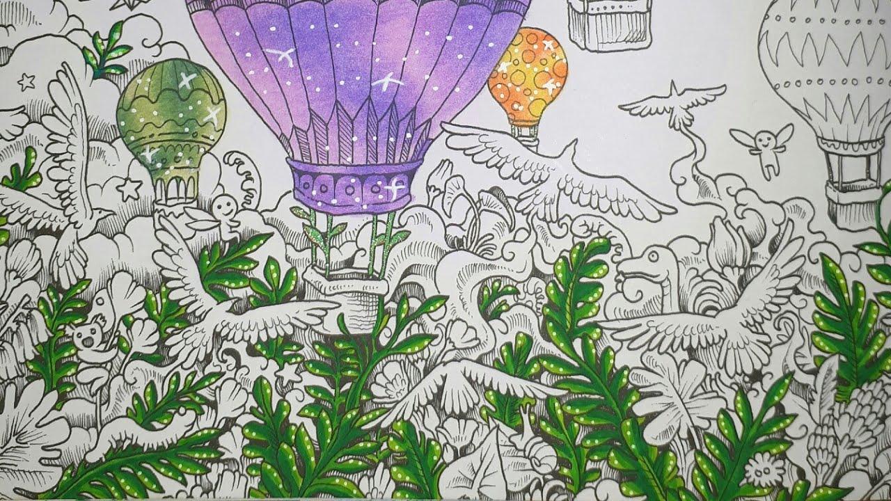 Coloriage Imagimorphia Marabout  Les Montgolfières