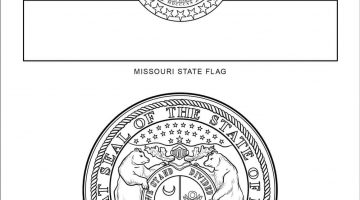 California State Symbols Coloring Pages