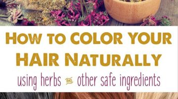 Coloring Your Natural Hair