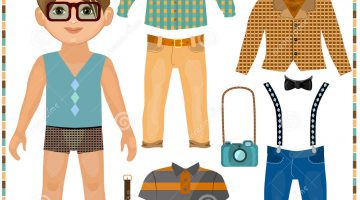 Boy Cut Out Paper Dolls