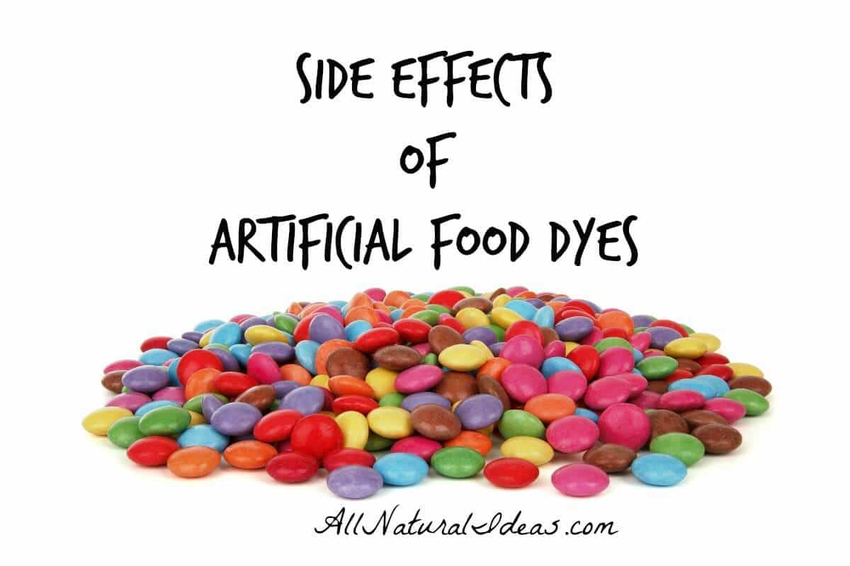 What Are The Artificial Food Dye Red 40 Side Effects