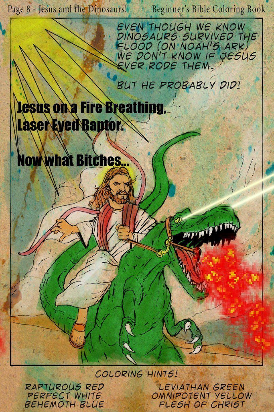 Jesus On A Fire