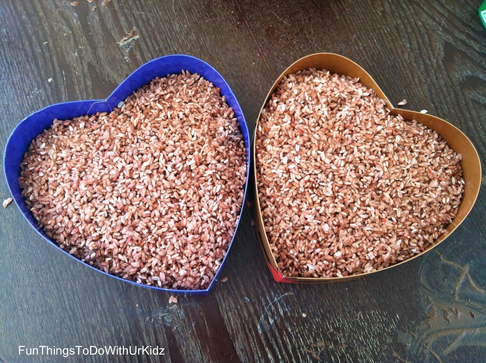 Chocolate Scented Sensory Rice To Make ~ Mix Some Dry Rice With