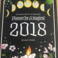 Coloring Book Of Shadows Planner For A Magical 2018