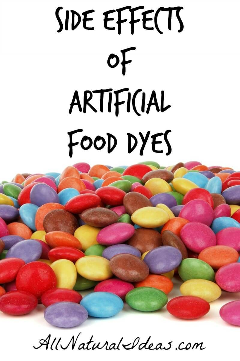 Artificial Food Dyes Side Effects