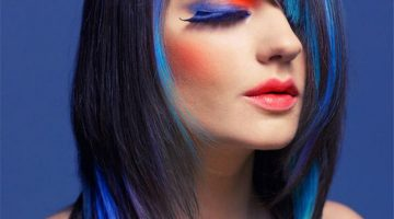 How To Dye Hair With Food Coloring For Black Hair