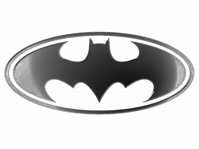 Printable Batman Logo Coloring Page 863