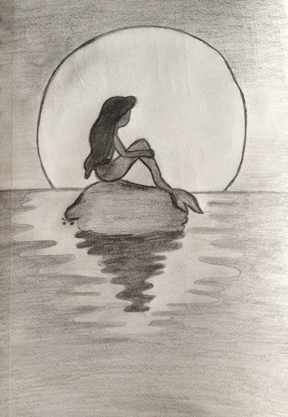 Mermaid Sketch …
