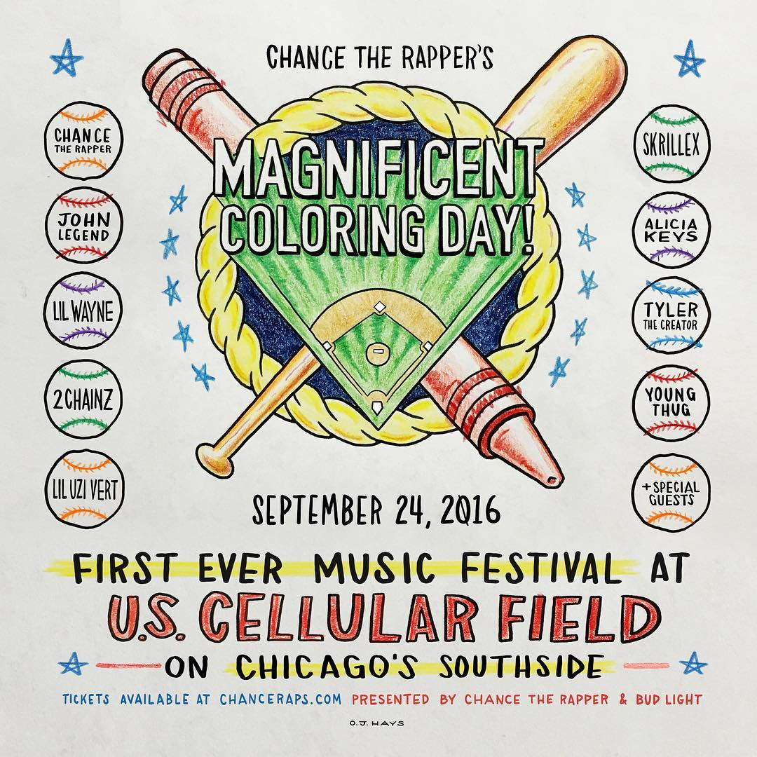 The Magnificent Coloring Day