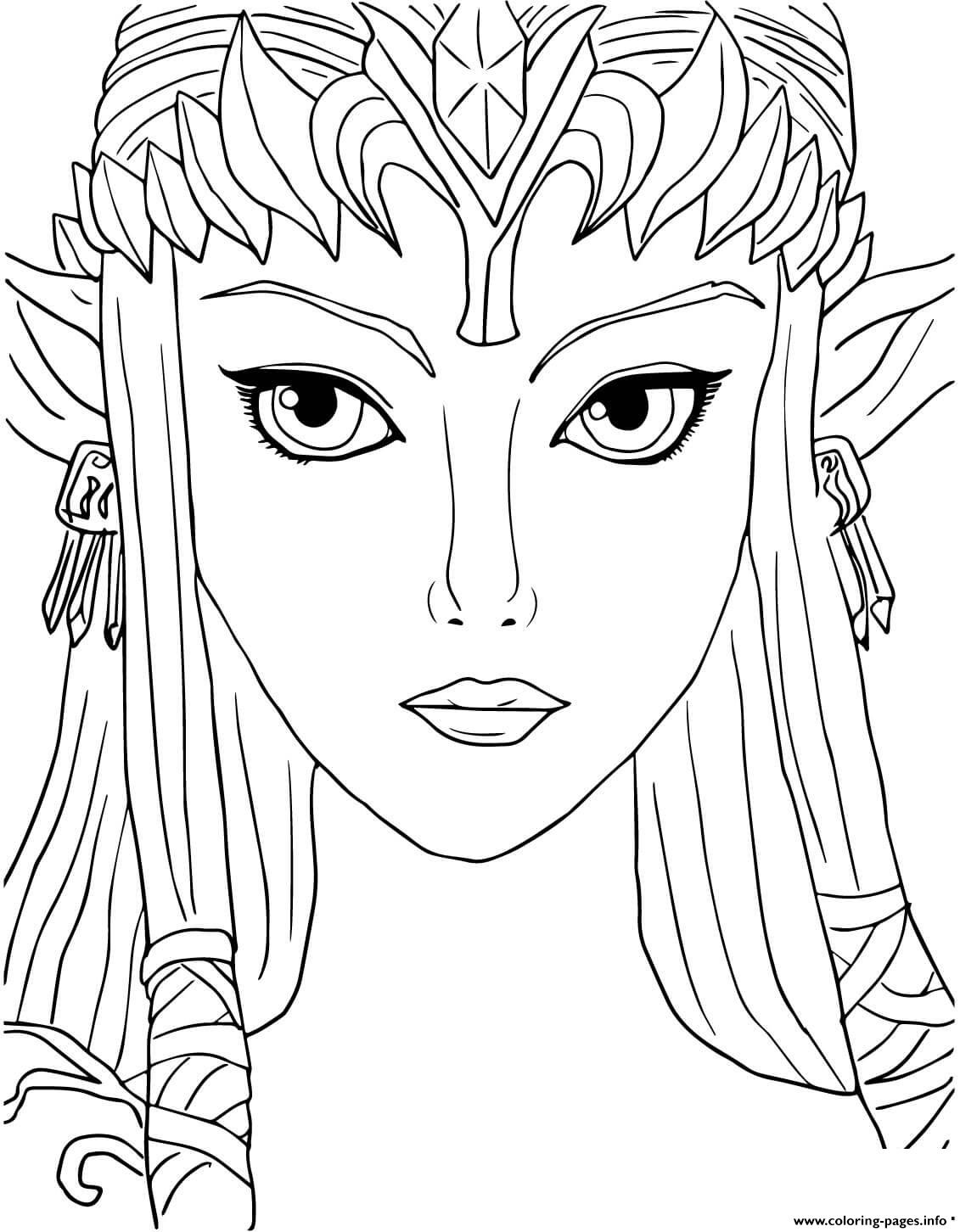 Zelda Twilight Princess Coloring Pages - NEO Coloring