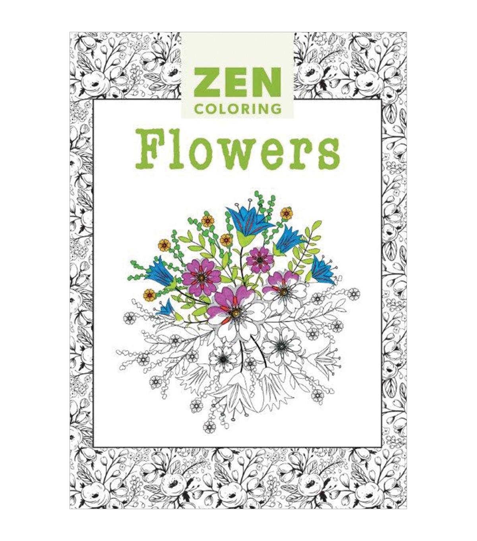 Zen Coloring Flowers
