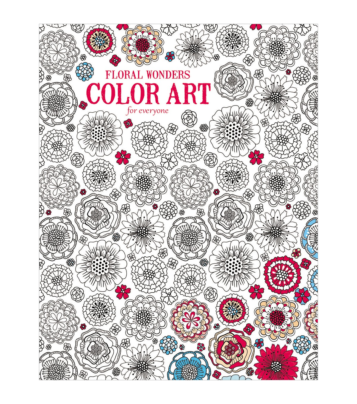 Leisure Arts  Floral Wonders Coloring Book