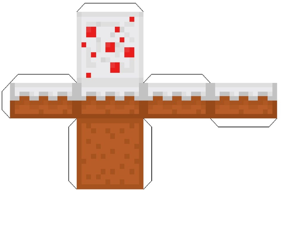 Minecraft Print Cut Out Free Image