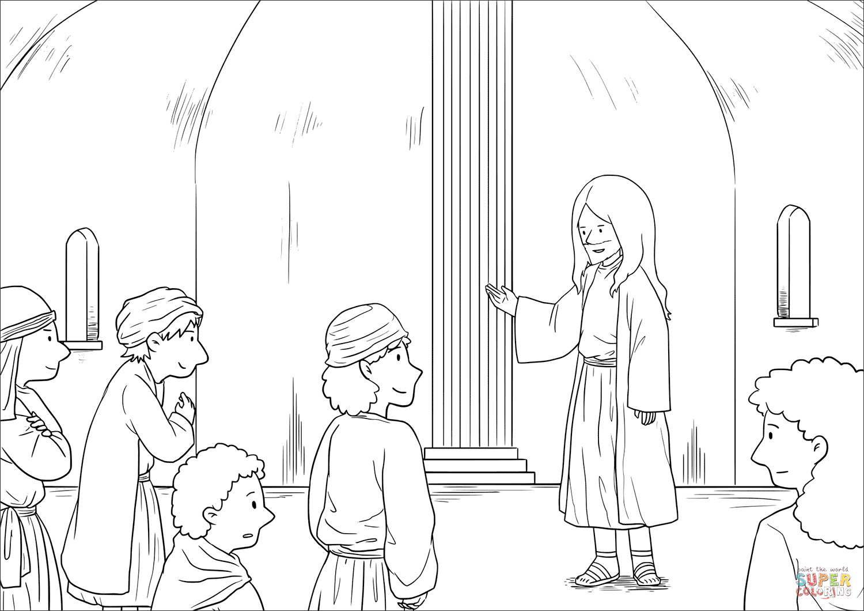 Jesus Heals A Crippled Woman On The Sabbath (luke 13 10