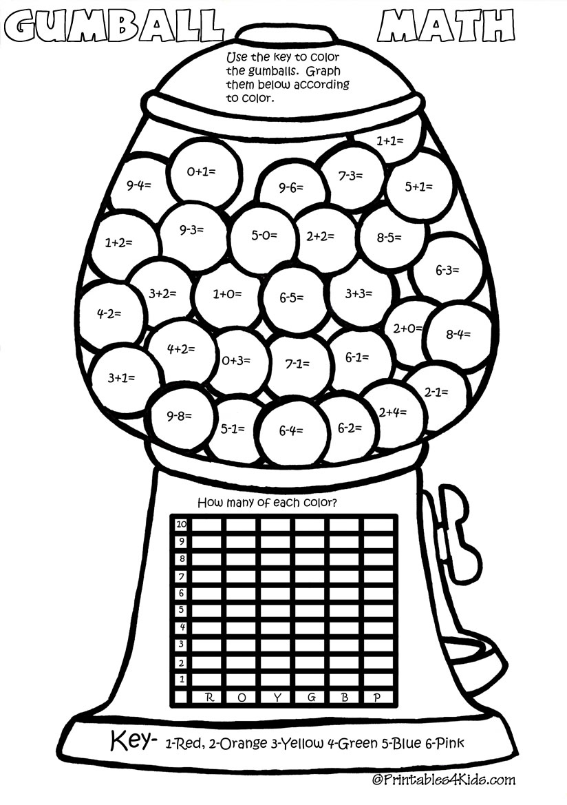 1st Grade Coloring Pages 1  25149