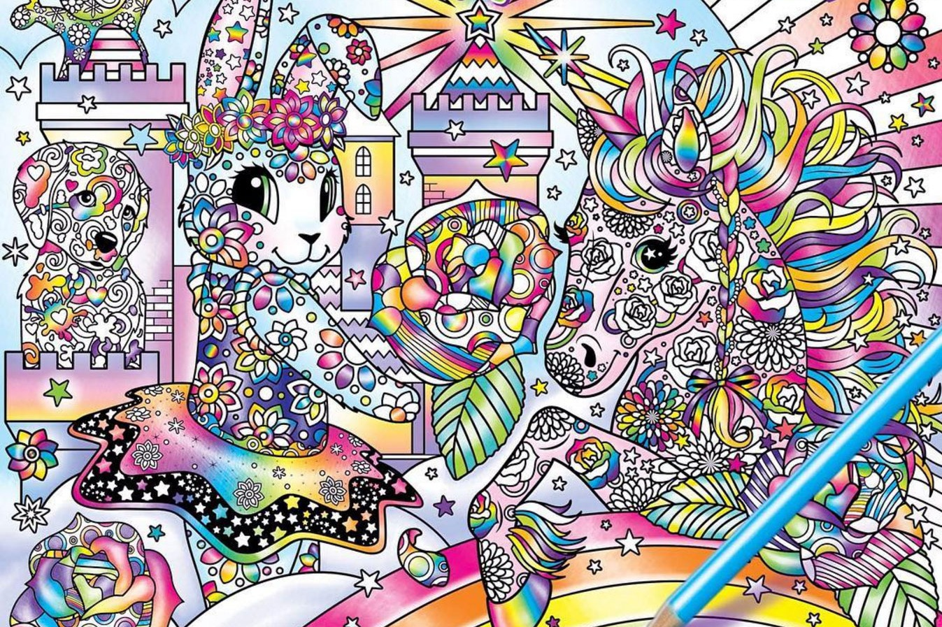 Lisa Frank '90s Adult Coloring Book' Wins Today's Internet Mad Libs