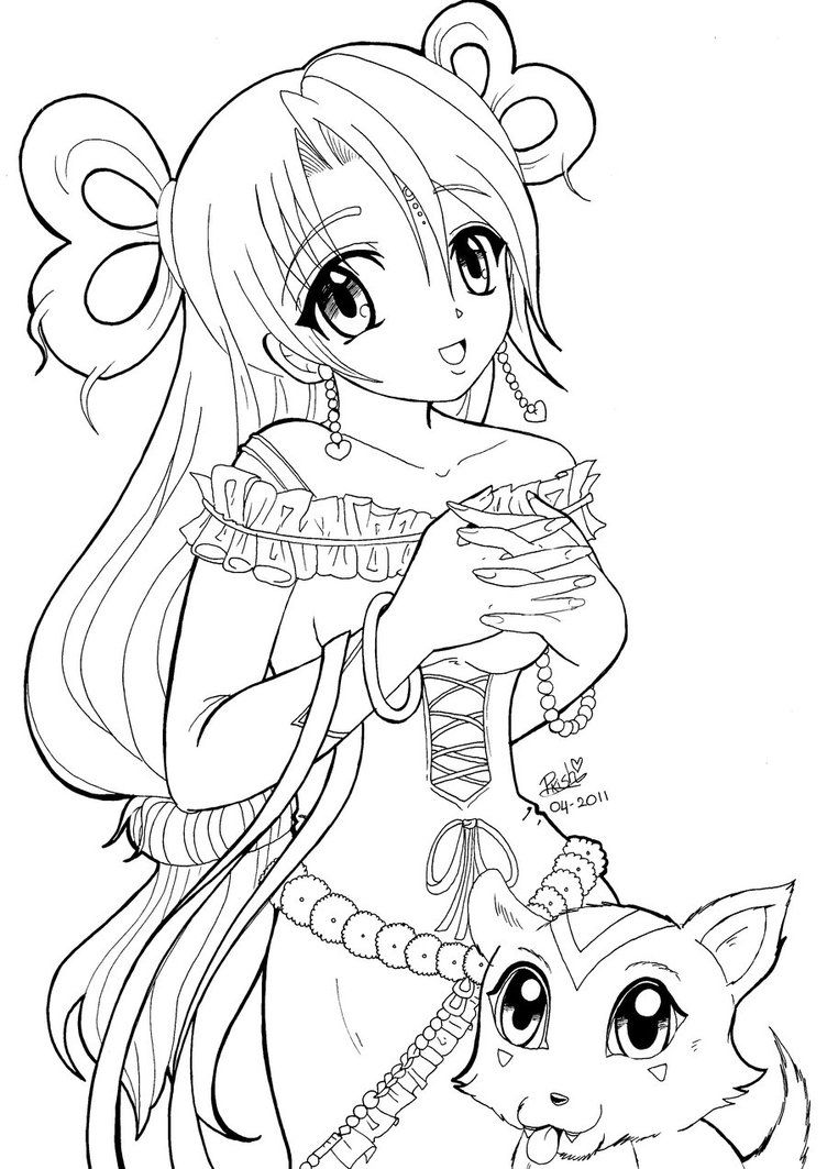 Extraordinary Ideas Anime Coloring Pages For Adults 14 Creative