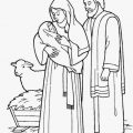 Catholic Christmas Coloring Pages