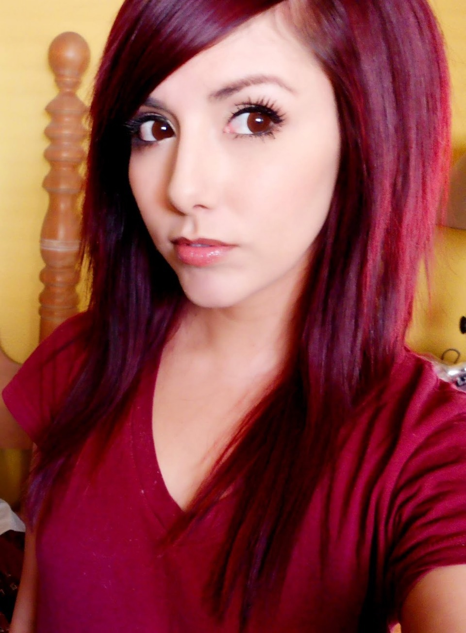 Want Deep Dark Red Hair Add Red Food Coloring To The Dye About