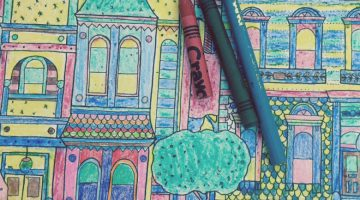 Adult Coloring Books Colored