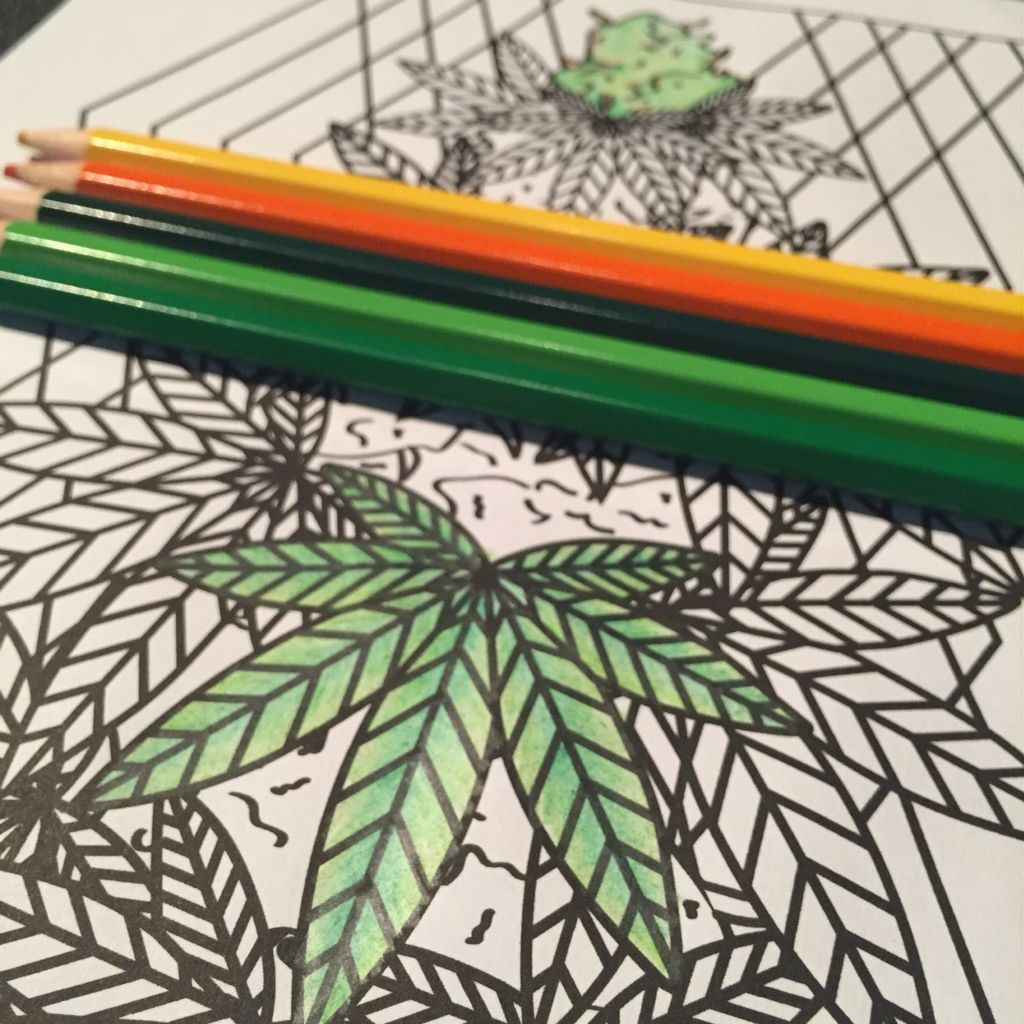 Color Me Cannabis! The Marijuana Themed Coloring Book For Stoners