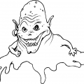 Scary Eyes Coloring Pages