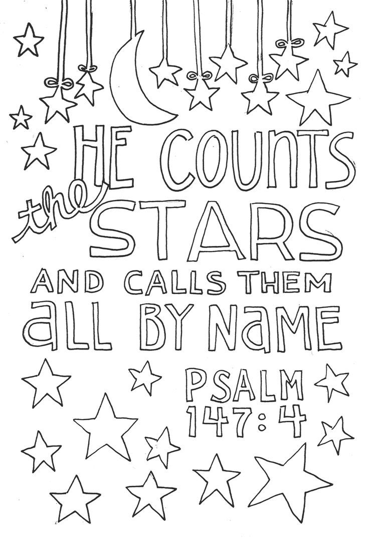 Ps 147 4 Bible Art Journaling Doodles