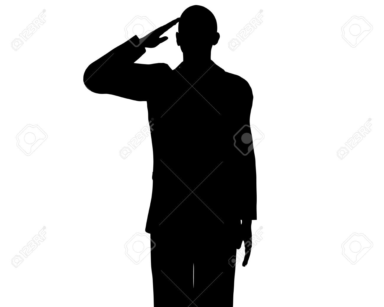Barack Obama Silhouette Royalty Free Cliparts, Vectors, And Stock