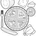 Myplate Coloring Pages