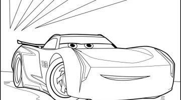 Francesco Cars 2 Coloring Pages