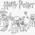Coloring Pages Harry Potter Lego