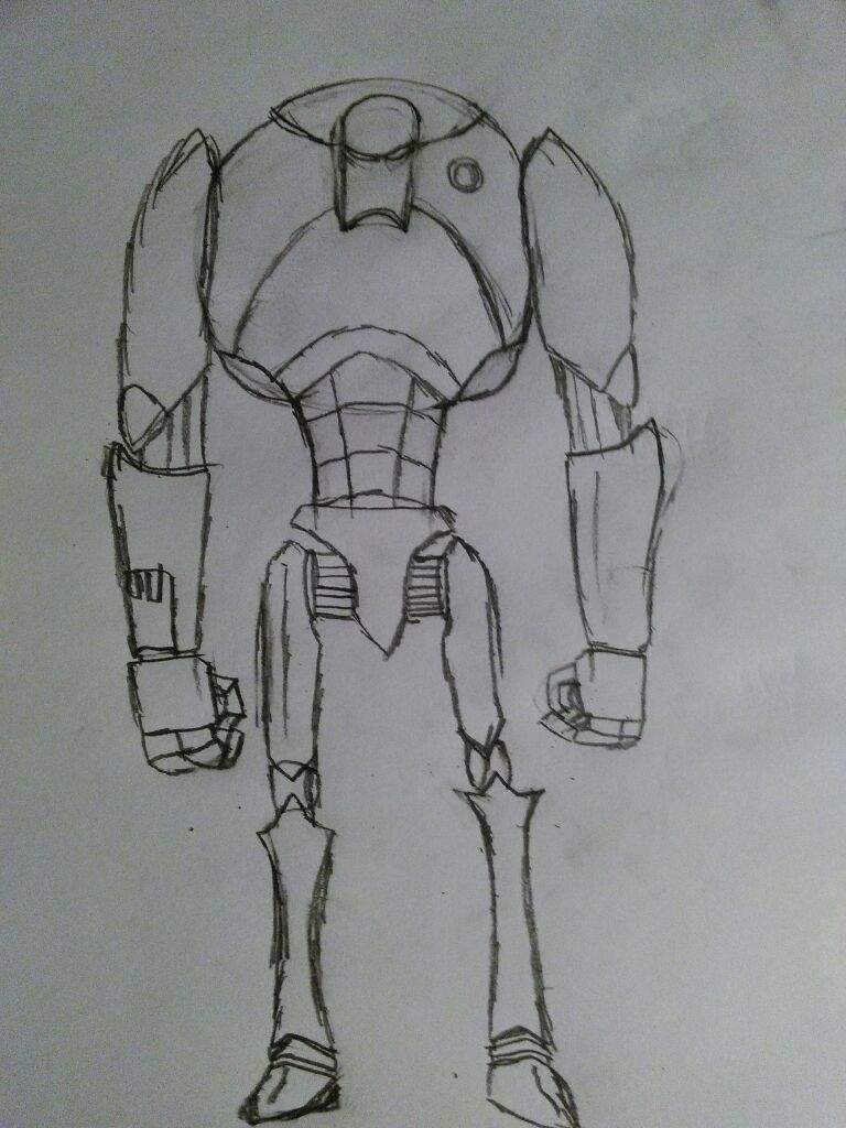 Battle Droid Drawing