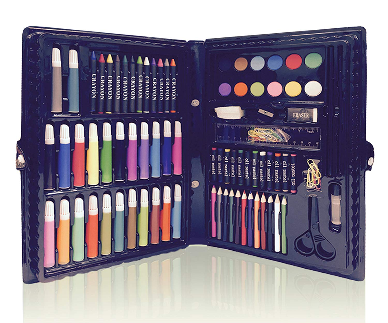 Amazon Com  Deluxe Art Set For Kids By Art Creativity
