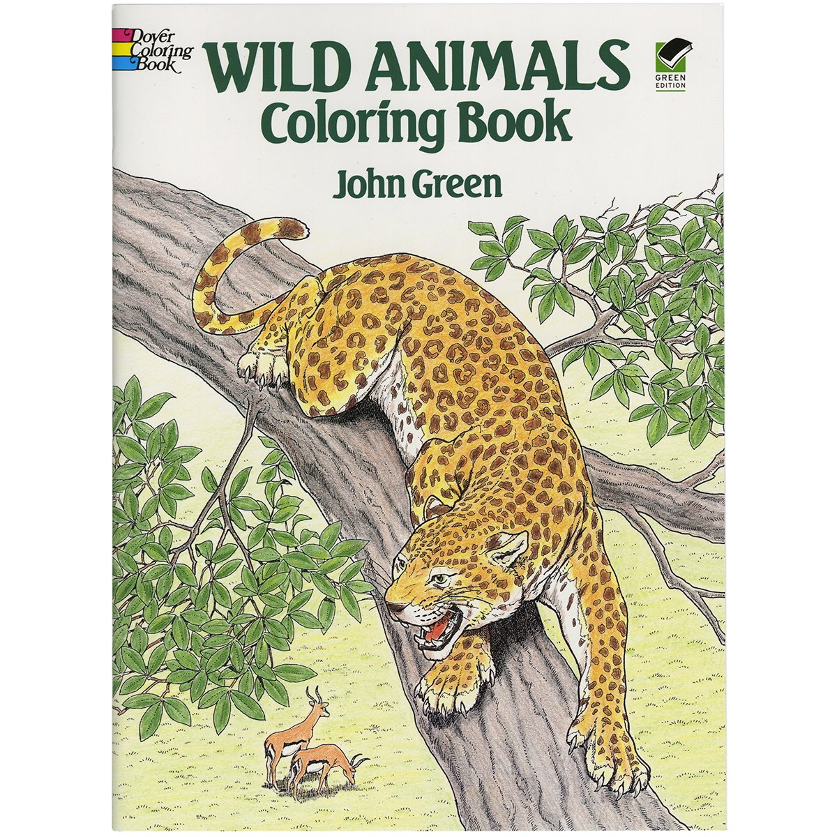 Wild Animals Coloring Book (dover Nature Coloring Book)  John