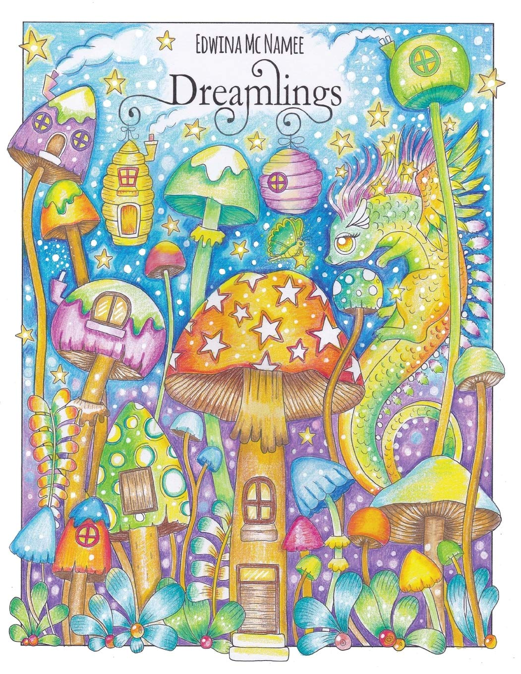 Amazon Com  Dreamlings  A Magical Coloring Book (9781985225466