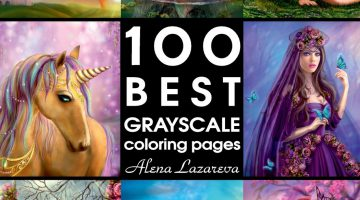 Grayscale Coloring Books