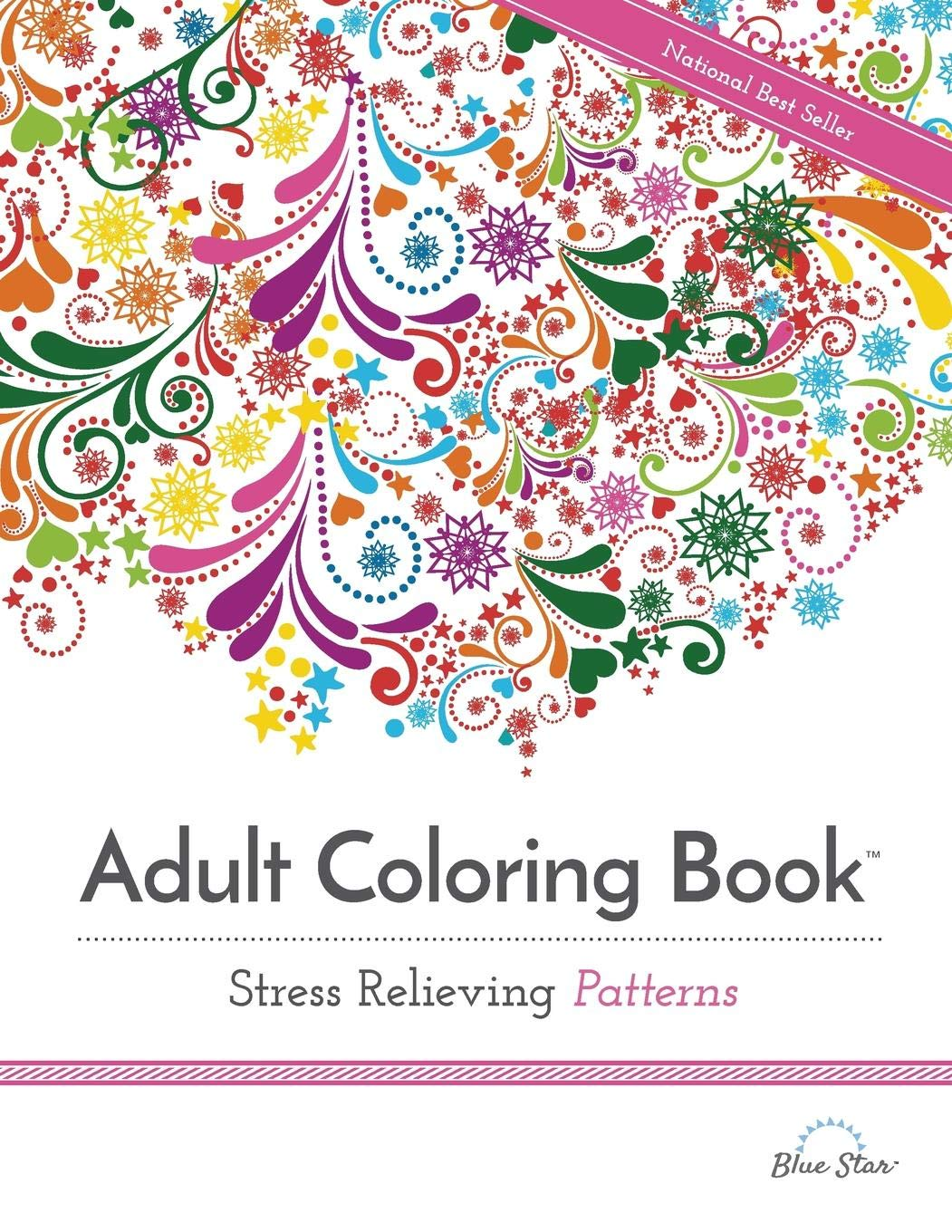 Adult Coloring Book  Stress Relieving Patterns (adult Coloring