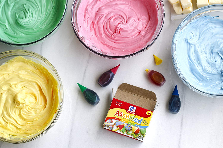 Amazon Com   Mccormick Assorted Food Color, 1 Fl Oz   Grocery